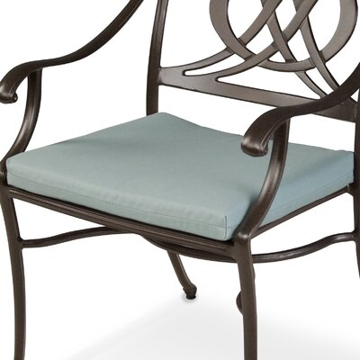 "Ateeva Rocker and Dining Chair Seat Cushion - Size: 19"" x 17"", Fabric: Spa at Sears.com"