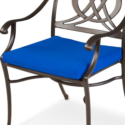 "Ateeva Rocker and Dining Chair Seat Cushion - Size: 19"" x 17"", Fabric: Pacific Blue at Sears.com"