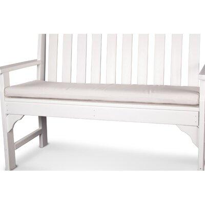 "Ateeva Bench and Swing Seat Cushion - Fabric: Bird's Eye, Size: 56"" x 18"" at Sears.com"