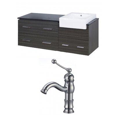 Mulberry Wall Mount 60 Single Bathroom Vanity Set