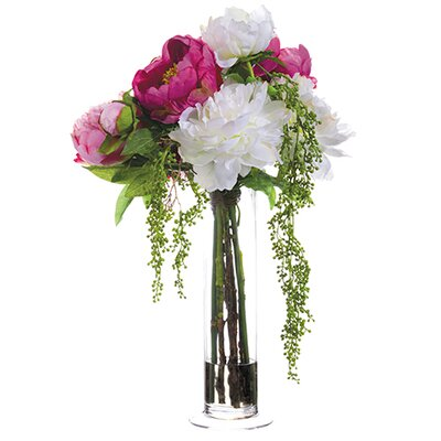 Peony Berry Centerpiece in Vase 668664905F144816AB0536822F02463D