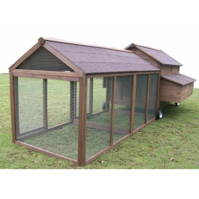 Bartholomew Chicken Coop with Chicken Run