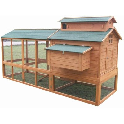 Basil Chicken Coop with Chicken Run