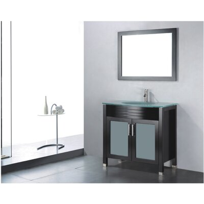 Adora 36 Single Bathroom Vanity Set with Mirror