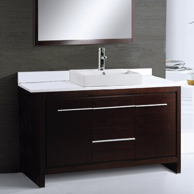 Alexa 48 Single Bathroom Vanity Set with Mirror