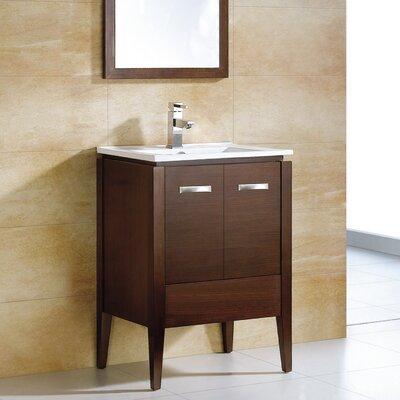 Catherine 36 Single Bathroom Vanity Set with Mirror