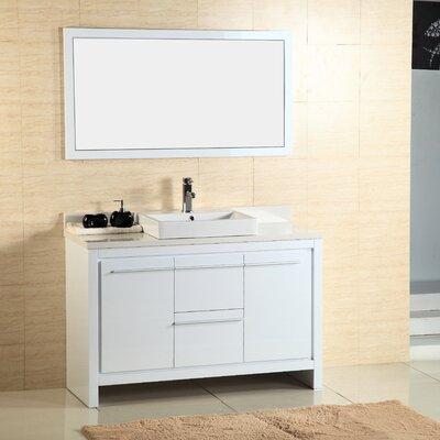 Alexa 48 Single Vanity with Mirror