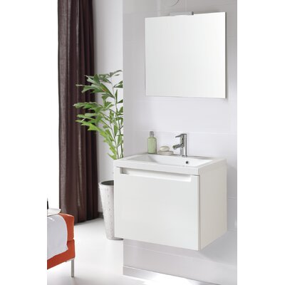 Serenity 24 Bathroom Vanity Set with Mirror