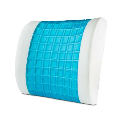 Gel Memory Foam Lumbar Pillow
