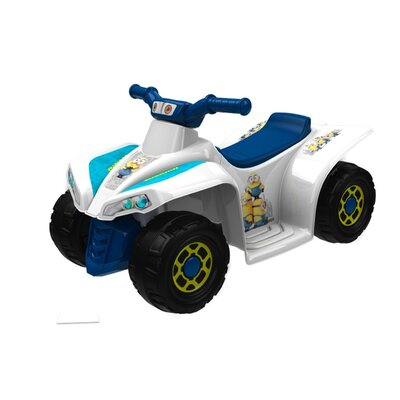 Minions Little Quad 6V Battery Powered ATV 8802-60R