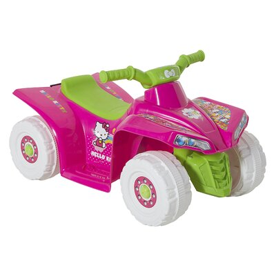 Hello Kitty 6V Battery Powered Little Quad 8801-87