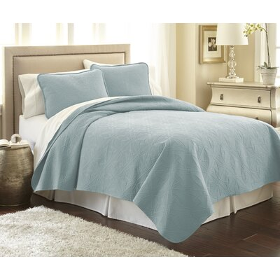 Vilano� Springs Quilt Set Size: Full/Queen, Color: Sky Blue