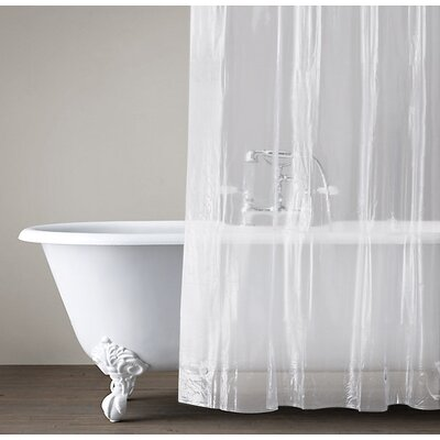 Vinyl Heavy Gauge Shower Curtain Liner Color: Frost