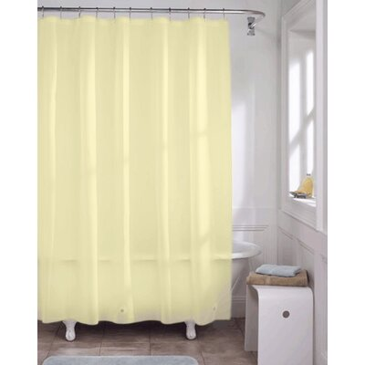 Vinyl Heavy Gauge Shower Curtain Liner Color: Yellow