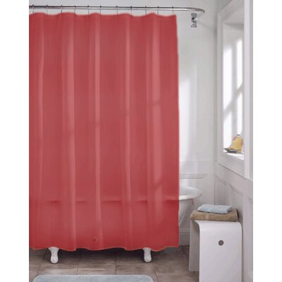 Vinyl Shower Curtain Liner Color: Wine