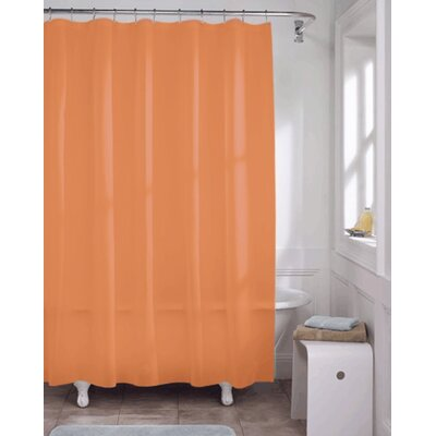 Vinyl Shower Curtain Liner Color: Rust