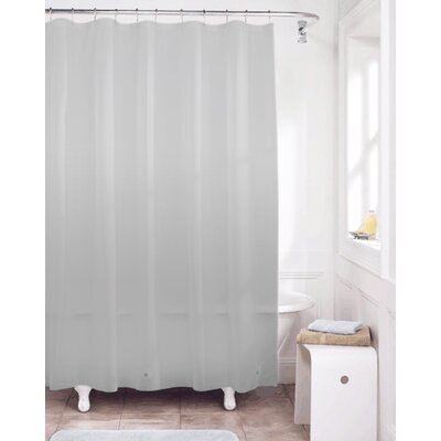 Vinyl Shower Curtain Liner Color: Silver