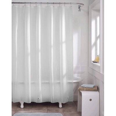 Vinyl Heavy Gauge Shower Curtain Liner Color: White