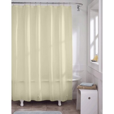 Vinyl Heavy Gauge Shower Curtain Liner Color: Sage