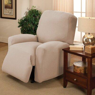 Jersey Recliner Slipcover Upholstery: Linen