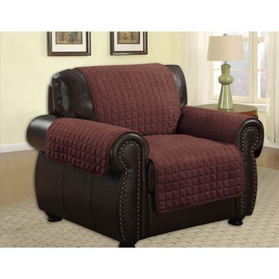 Microfiber Chair Furniture Protector Upholstery: Brown