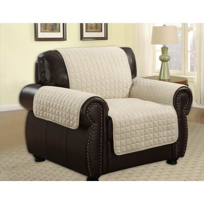 Microfiber Chair Furniture Protector Upholstery: Beige