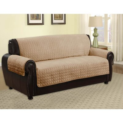 Microfiber Sofa Furniture Protector Upholstery: Camel