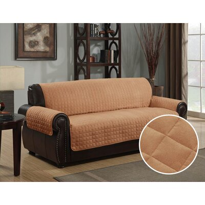 Polyester Sofa Furniture Protector Upholstery: Camel