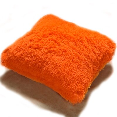 Lakisha Fur Throw Pillow Color: Sewn Shut