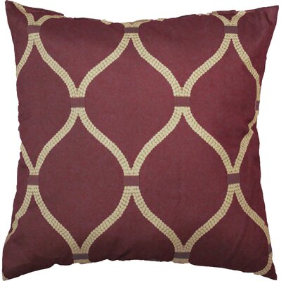 Celine Throw Pillow Color: Terracotta