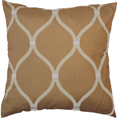 Celine Throw Pillow Color: Gold