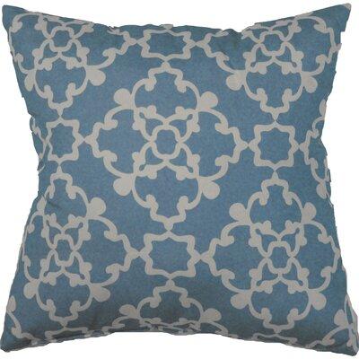 Alex Throw Pillow Color: Aqua Blue
