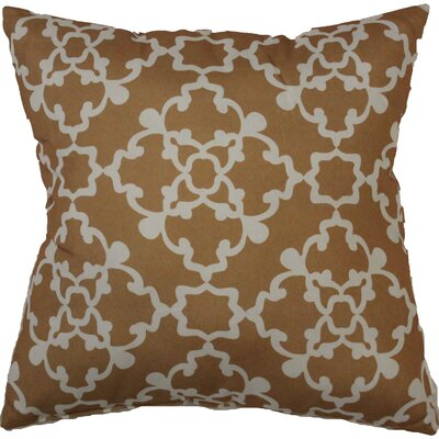 Alex Throw Pillow Color: Gold