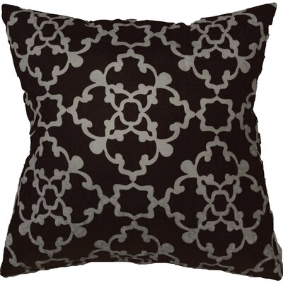 Alex Throw Pillow Color: Black