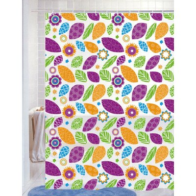 Faye Vinyl Shower Curtain