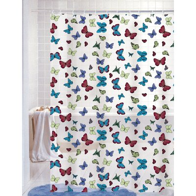 Carli Vinyl Shower Curtain