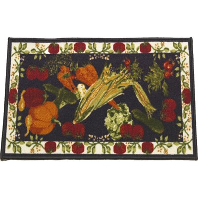 Harvest Kitchen Mat Mat Size: 18 x 34