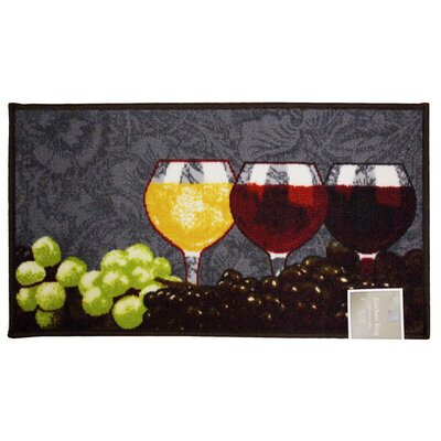 Napa Kitchen Mat Rug Size: Semi-Circle 1'5