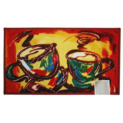 Latte Kitchen Mat Rug Size: 167 x 333