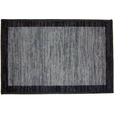 Sonoma Black Area Rug Rug Size: 5 x 7