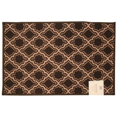Savoy Chocolate Area Rug Rug Size: 18 x 26