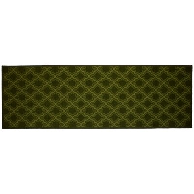 Savoy Green Area Rug Rug Size: Runner 18 x 5