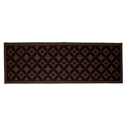Bordeaux Chocolate Area Rug Rug Size: 5 x 7