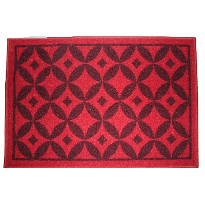 Bordeaux Burgundy Area Rug Rug Size: Runner 18 x 5