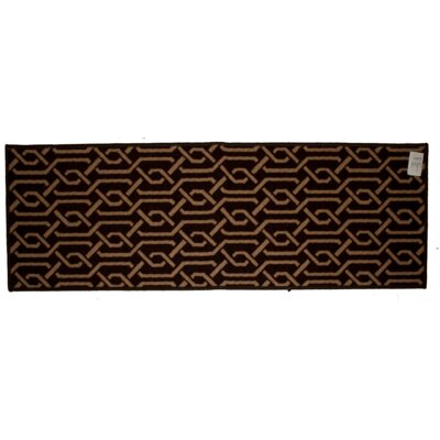 Aztec Brown Area Rug Rug Size: Runner 18 x 5
