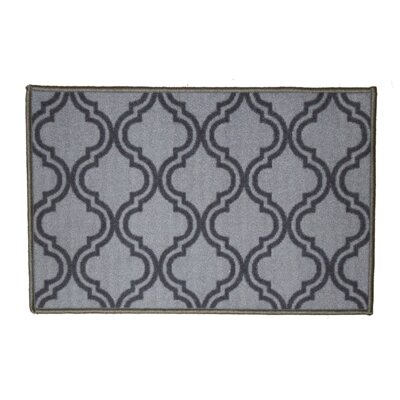 Royal Gray Area Rug Rug Size: 18 x 26