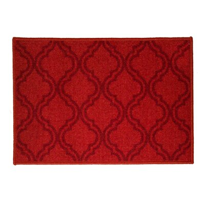 Royal Burgundy Area Rug Rug Size: 5 x 7