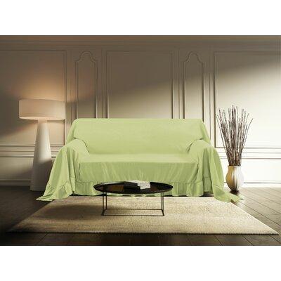 Venice Furniture Throw Love Seat Color: Sage