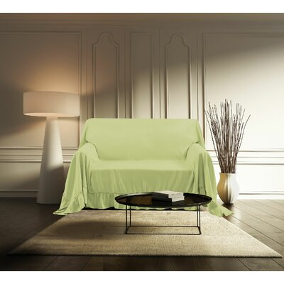 Venice Furniture Throw Chair Color: Sage
