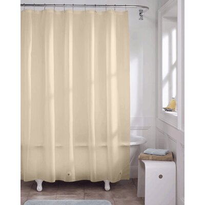 Vinyl Heavy Gauge Shower Curtain Liner Color: Beige